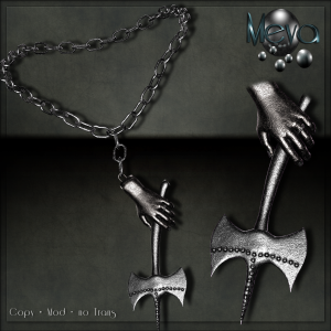 Meva Axt Necklace Iron Vendor